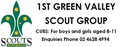 1st Green Valley Scouts Logo