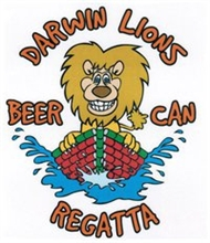 Darwin Lions Beer Can Regatta Logo