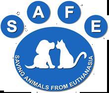 SAFE (Saving Animals from Euthanasia) Logo