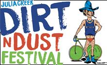 Julia Creek Dirt'n'Dust Festival Logo
