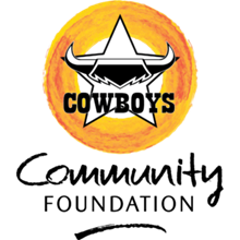 Cowboys Community Foundation/ NRL Cowboys House Logo