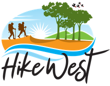 Hikewest (previously 'Bushwalking WA'/Federation of WA Bushwalkers) Logo