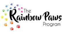 The Rainbow Paws Program Logo