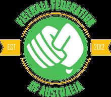 Fistball Federation of Australia Logo