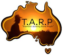 T.A.R.P. Travellers Assisting Rural People Logo