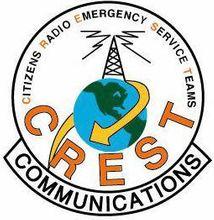 Citizens Radio Emergency Service Teams   CREST Logo