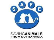 S.A.F.E Saving Animals From Euthanasia inc. Logo