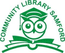 Community Library Samford Inc Logo