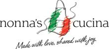 Nonna's Cucina - Made with Love, Shared with Joy Logo