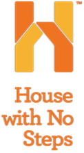 House with No Steps Logo