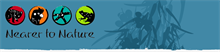 Nearer to Nature - Department of Biodiversity, Conservation and Attractions Logo