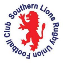 Southern Lions Rugby Union Football Club - CVRC Logo