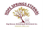 Hope Springs Eternal Dog Rescue, Rehoming and Retirement Inc. logo