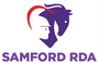 Samford Riding for the Disabled Association (RDA) logo
