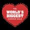 World's Biggest Garage Sale logo