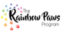 The Rainbow Paws Program logo