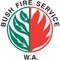 Clackline/ Muresk Volunteer Bush Fire Brigade logo