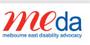Melbourne East Disability Advocacy logo