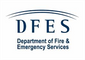 Department of Fire & Emergency Services (DFES) logo